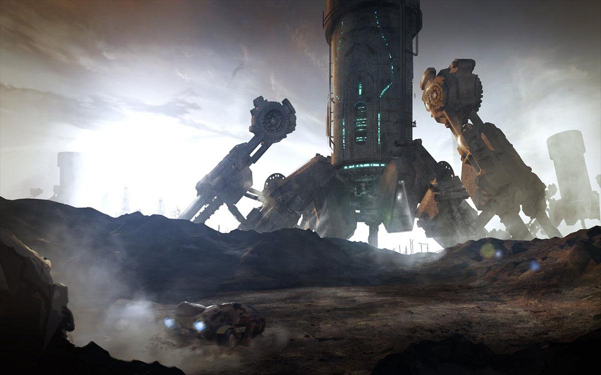 alien mining operation