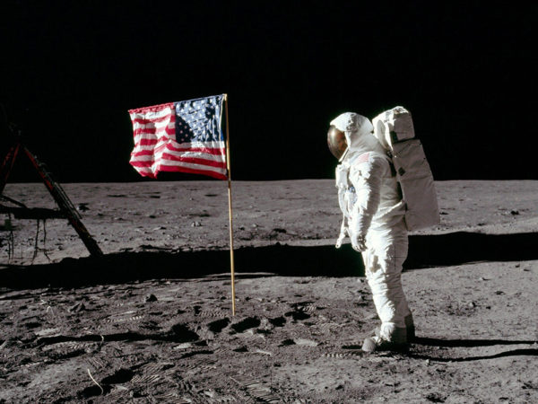 that's one small step for man…