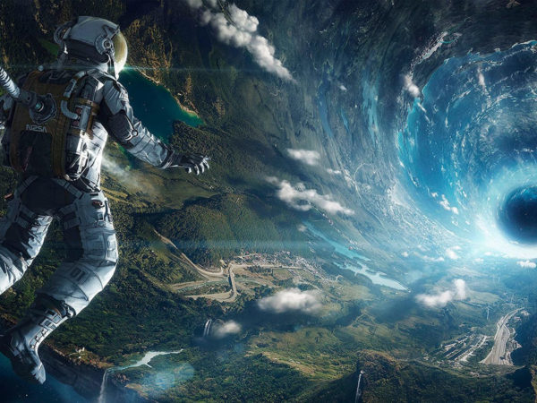 if an astronaut falls into a black hole, will he turn into quantum fuzz?