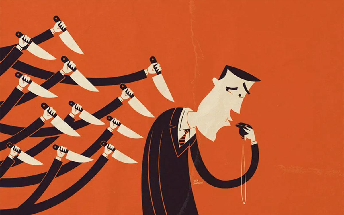 backstabbed whistleblower