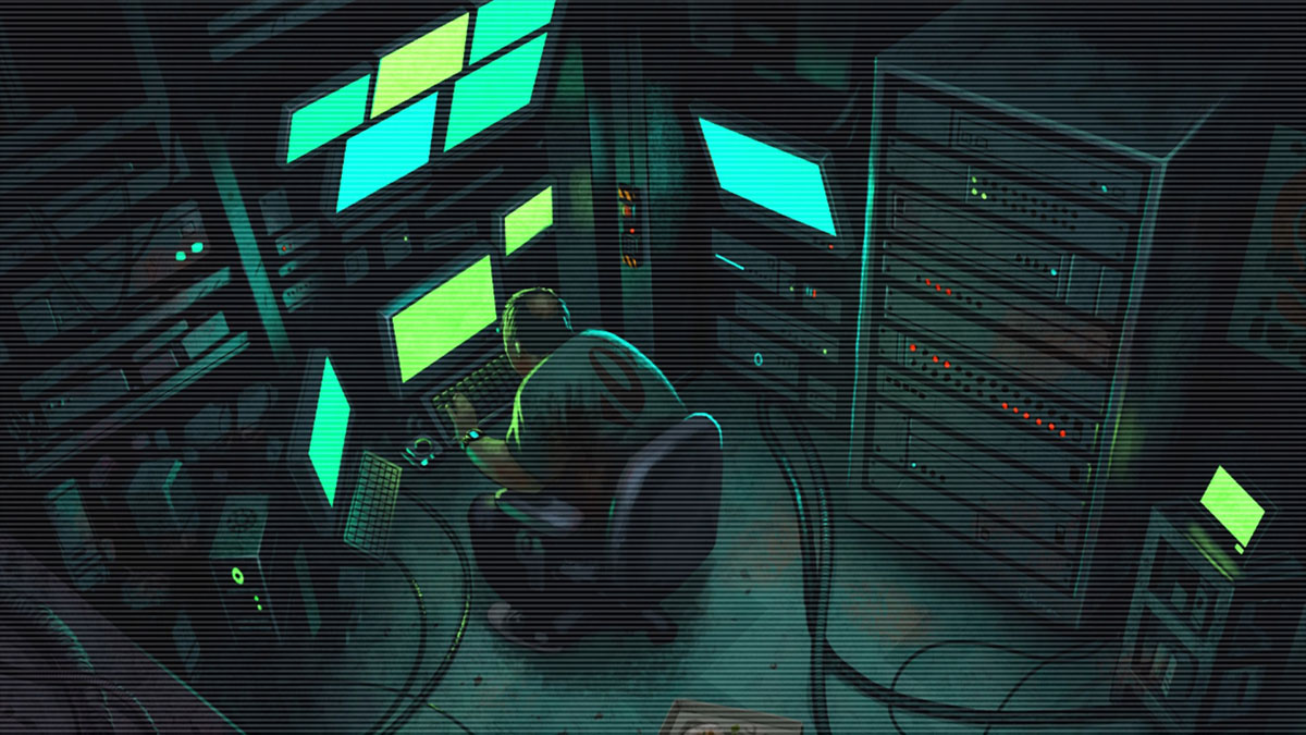 older hacker illustration