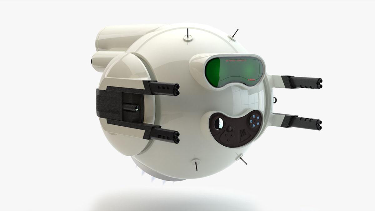 battle bot drone