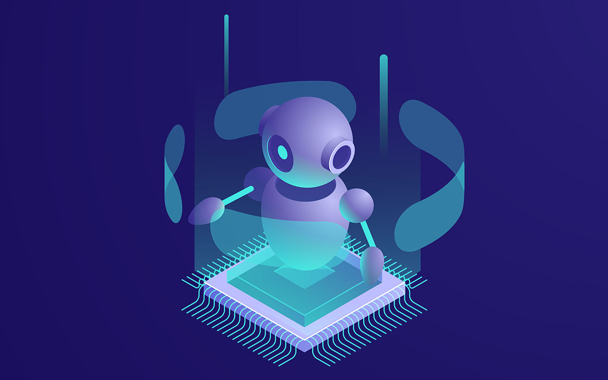 bot on a chip