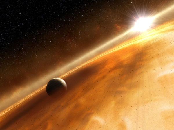 this weird star system is, literally, flipping awesome