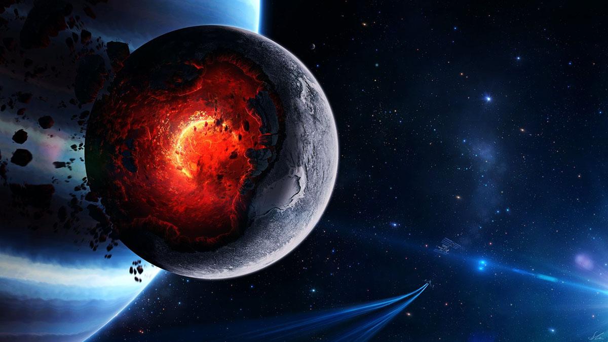 cataclysm on moon
