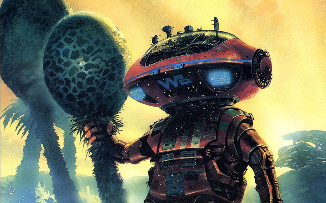 comic book robot