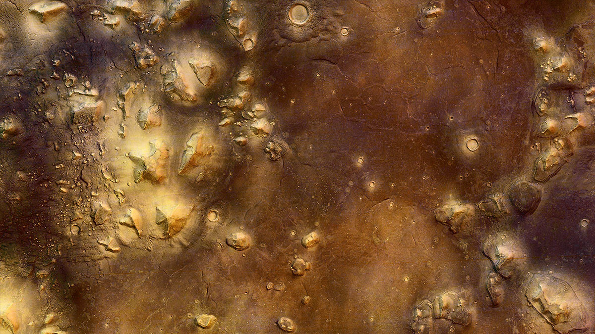 plains of cydonia on mars