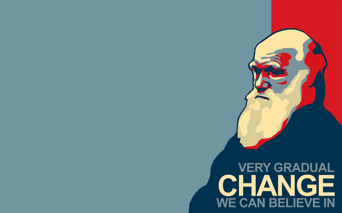 darwin change poster