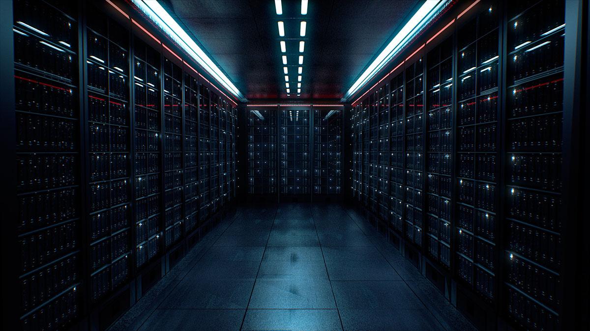 data center dark