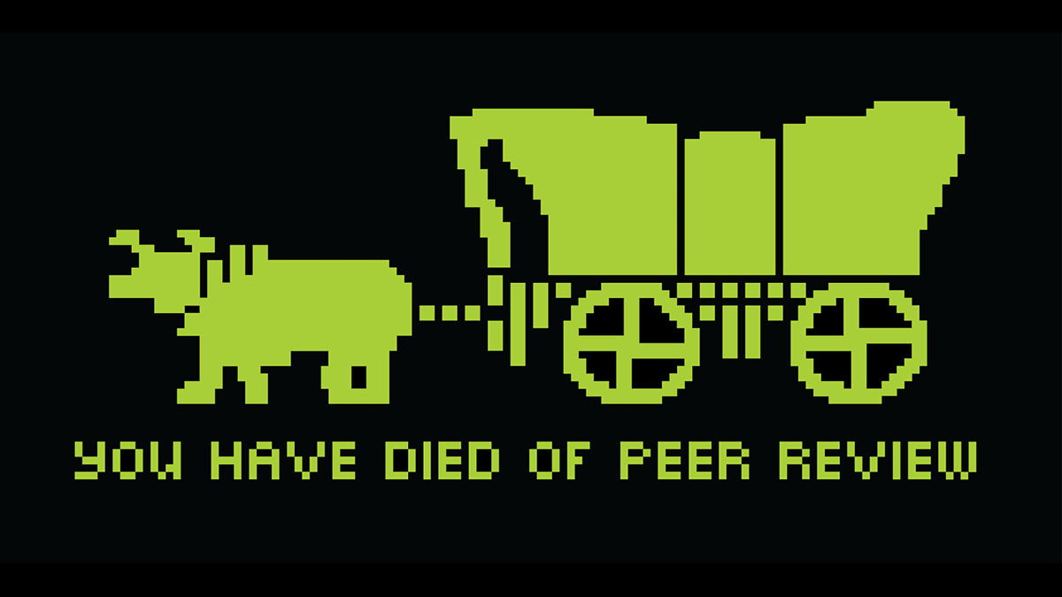 death by peer review