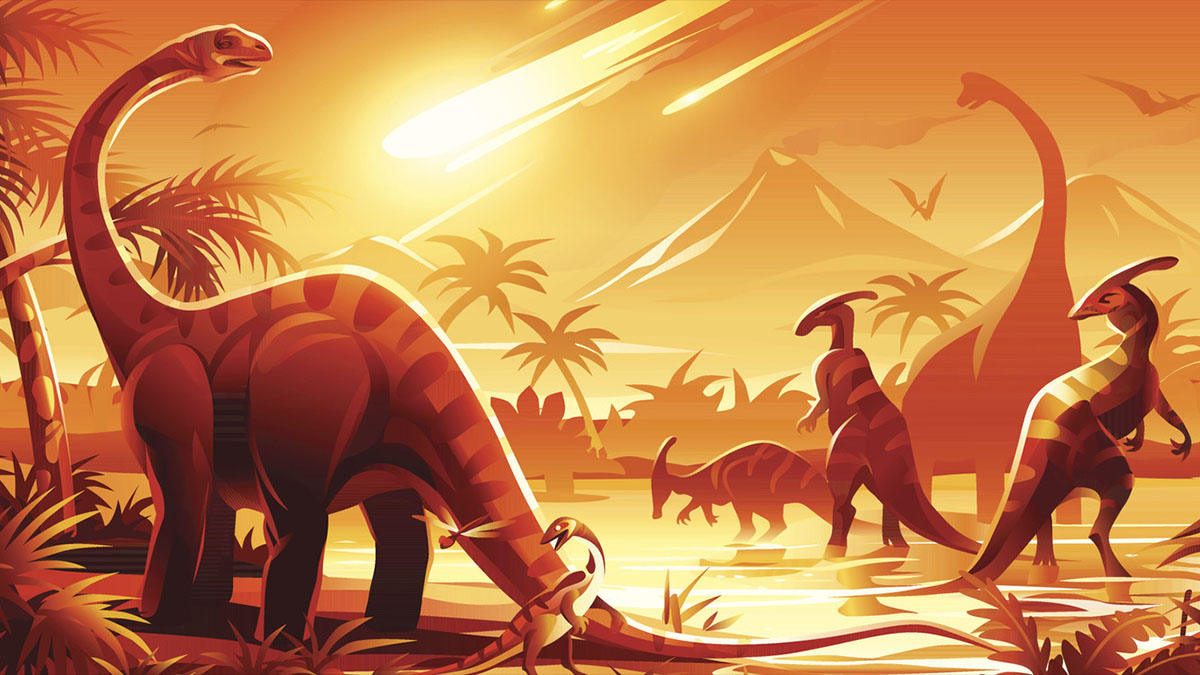 dinosaurs before impact