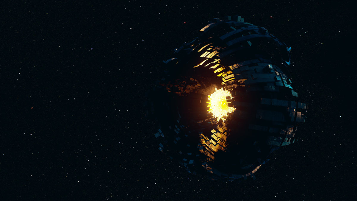 dyson sphere in progress