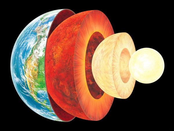 earth is growing, proclaims amateur geologist