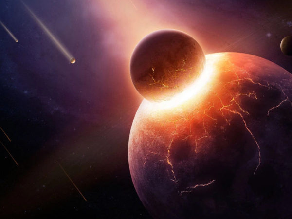 when worlds collide: what happened the day the earth died