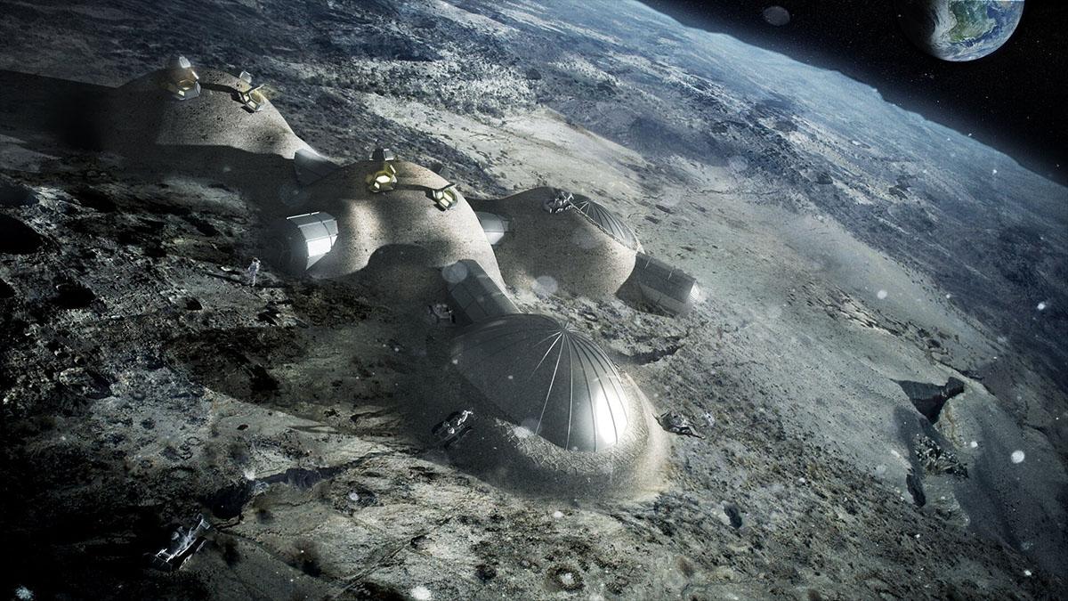 esa moon camp design