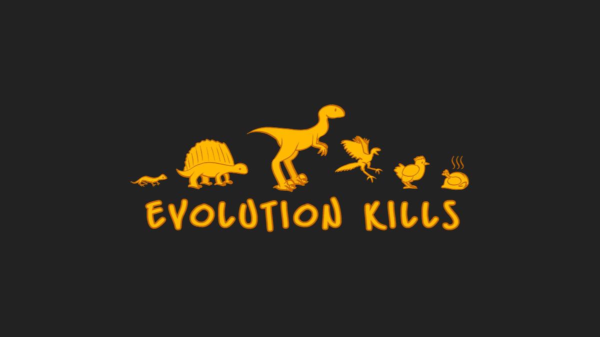 evolution humor