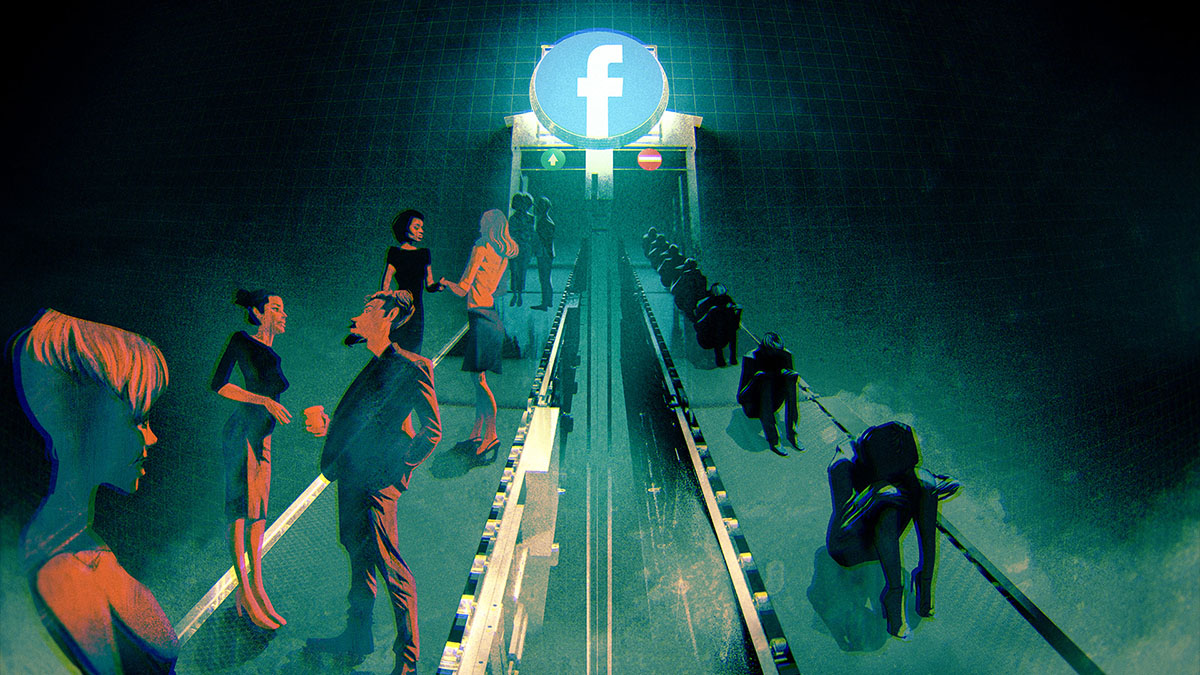 facebook misery factory