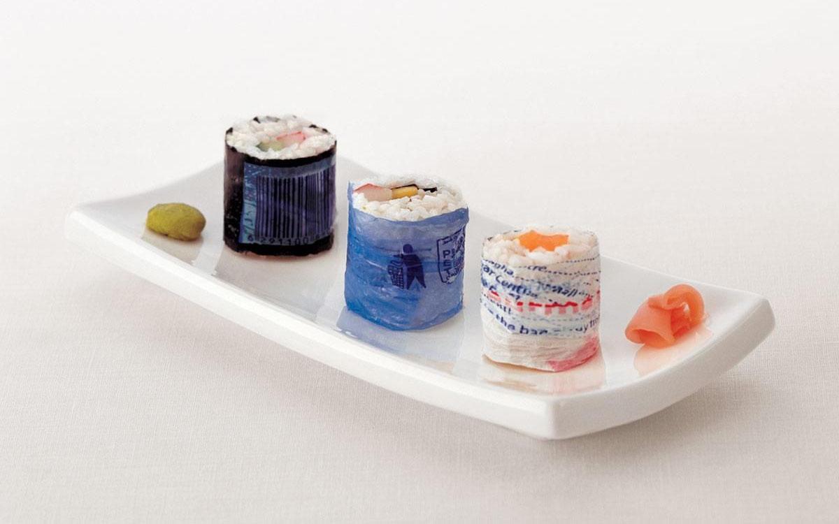 garbage sushi