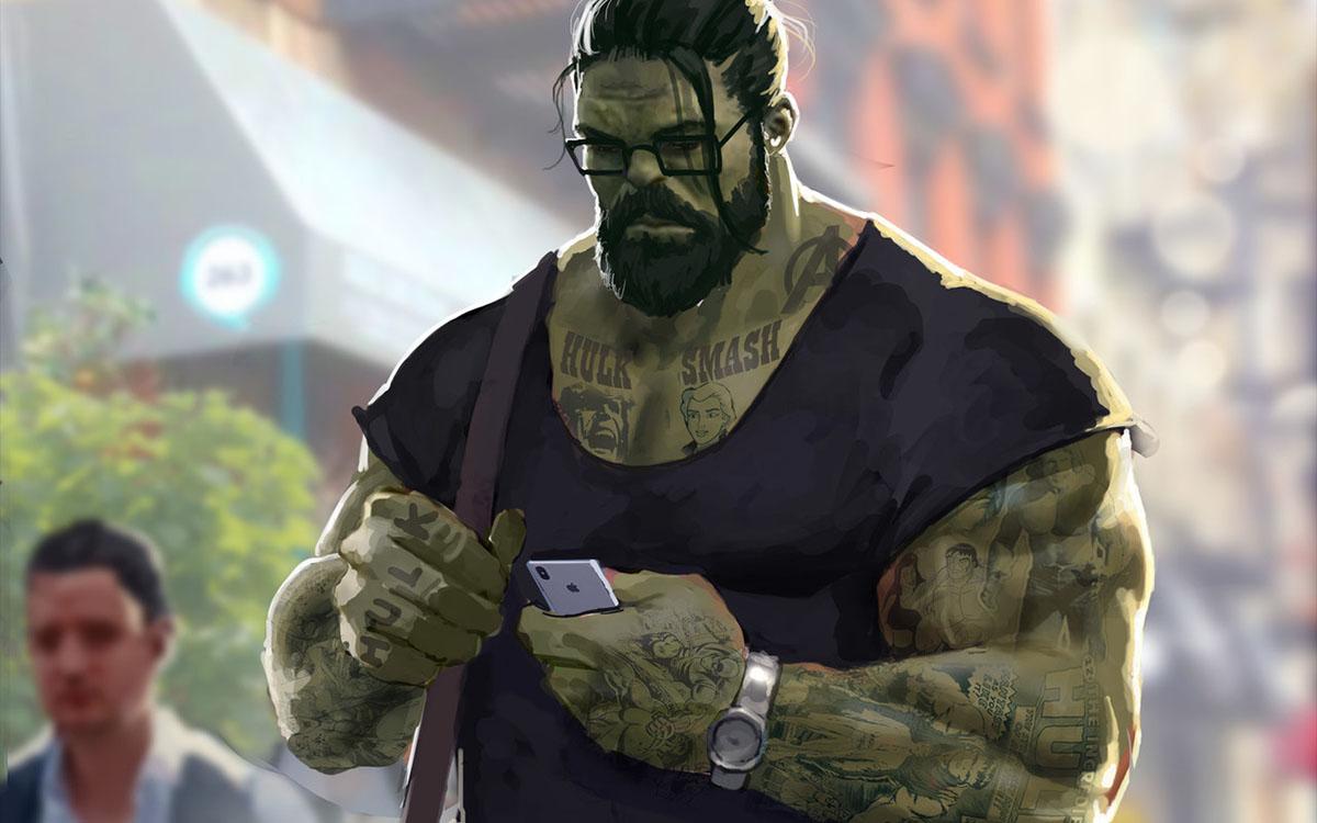 hipster hulk