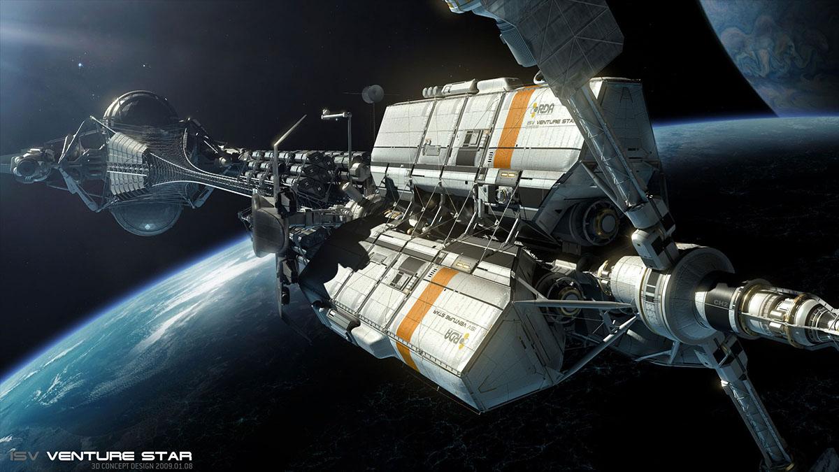 insterstellar spacecraft concept