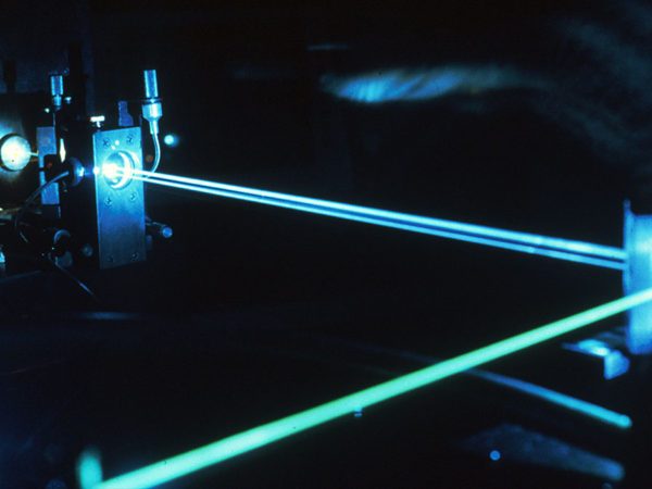 when lasers learn how to turn a corner…