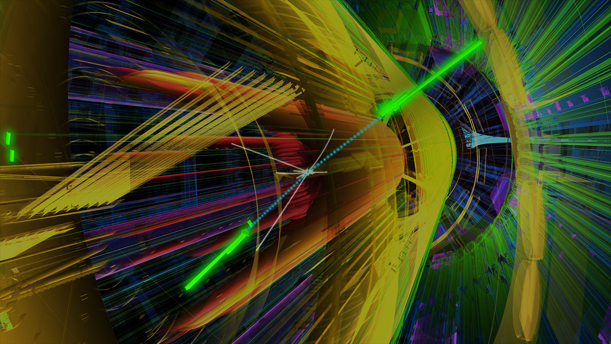 lhc atlas collision