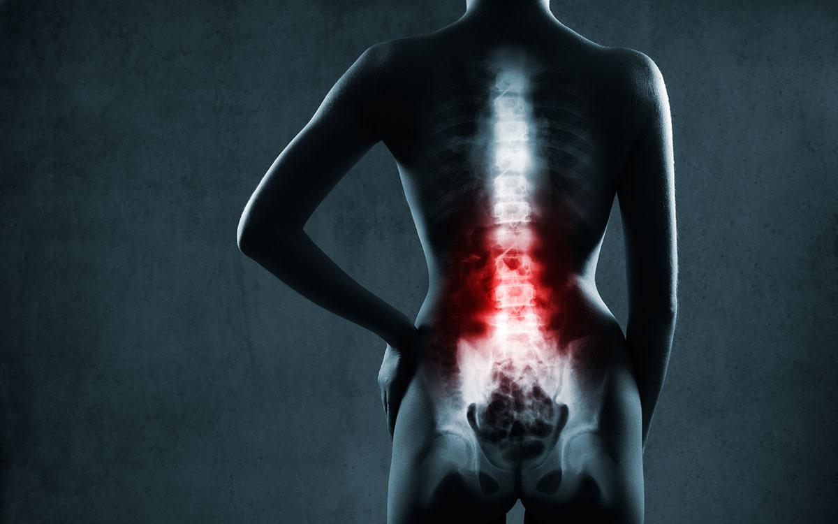 lumbar pain render