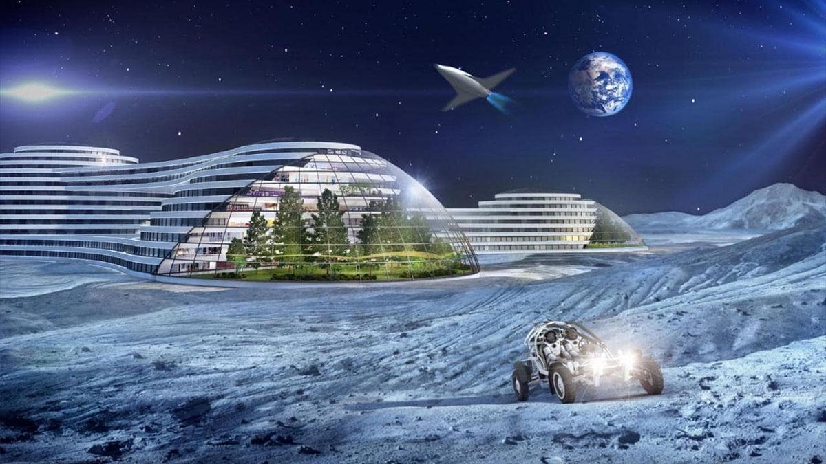 lunar hotel render