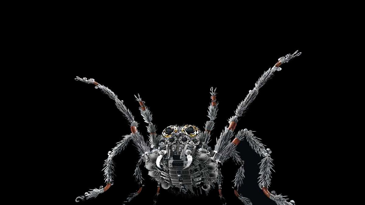 mecha spider