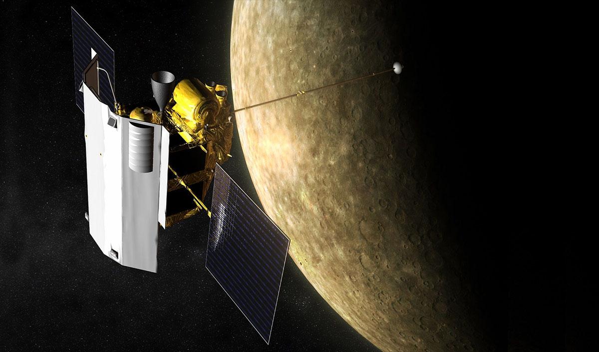 mercury and messenger probe