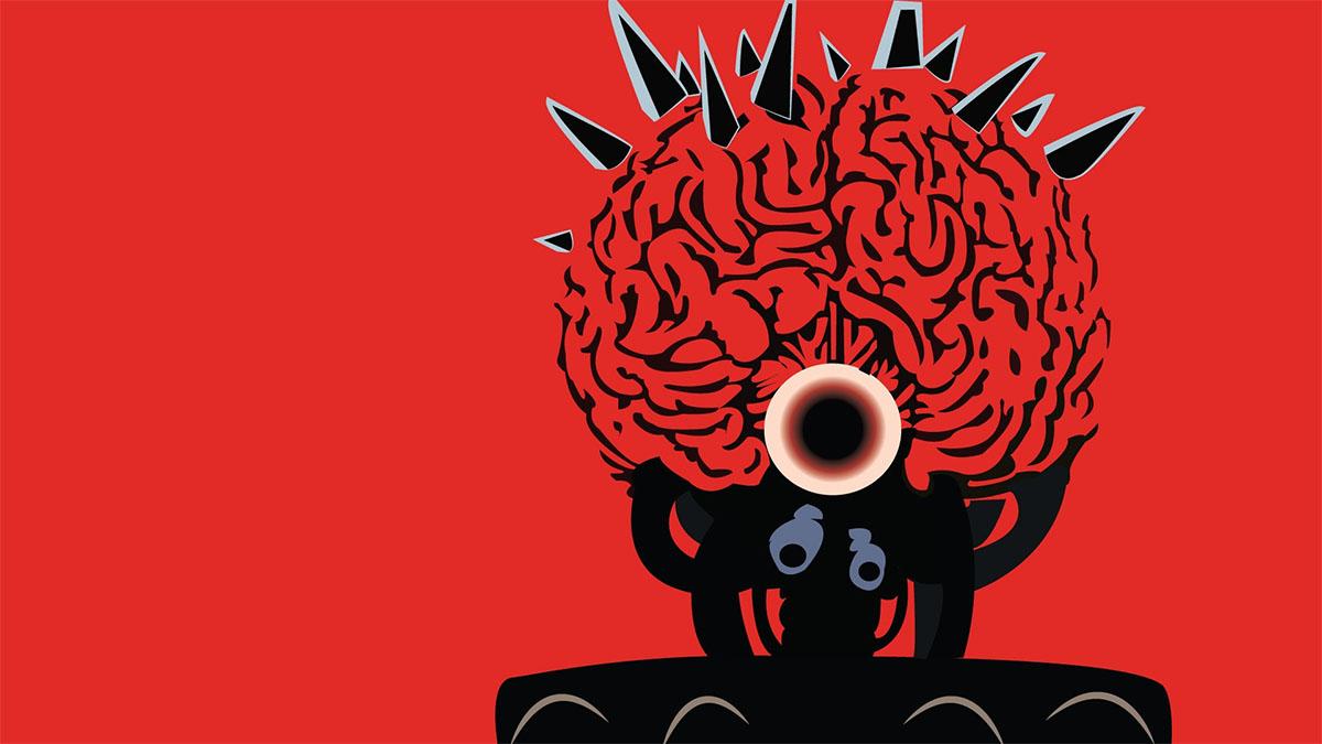 metroid evil brain