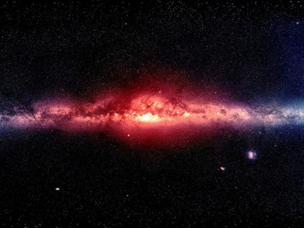how we know the milky way is warped and twisted, and how it got that way