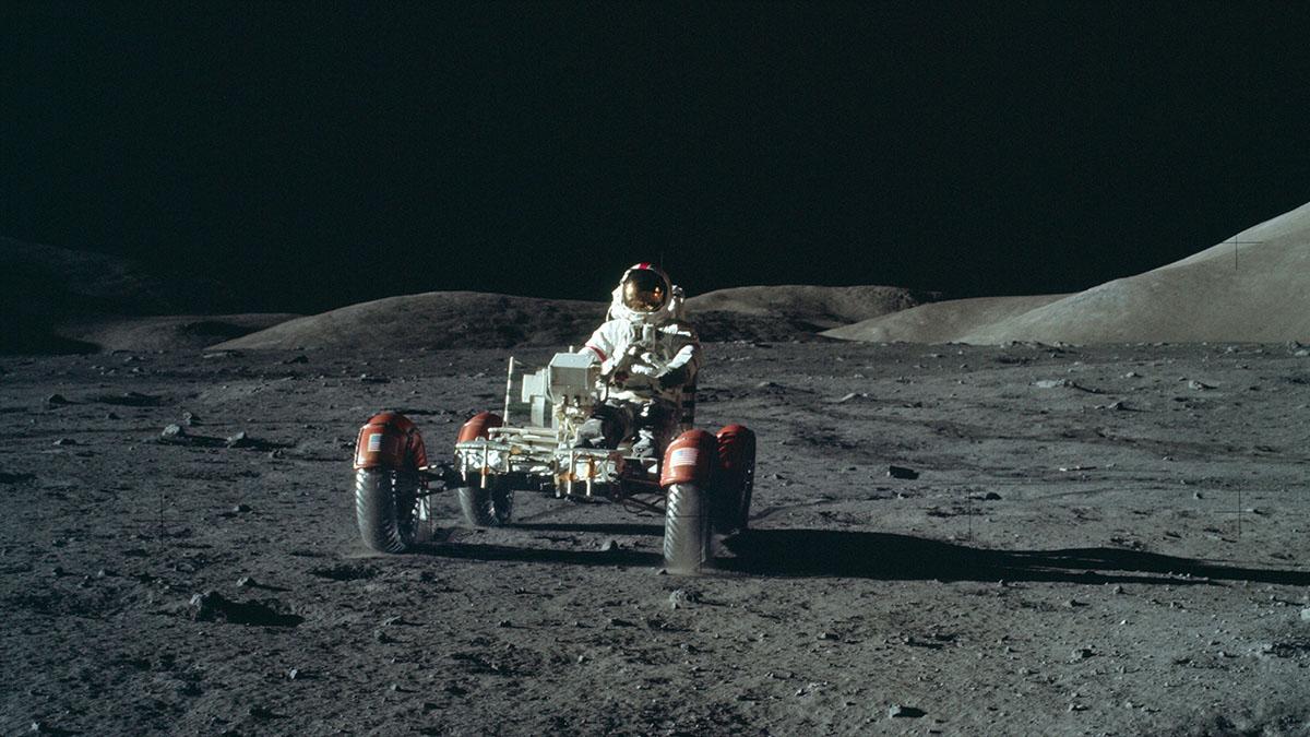 apollo moon car