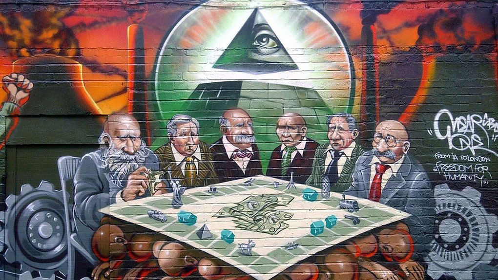 new world order grafitti