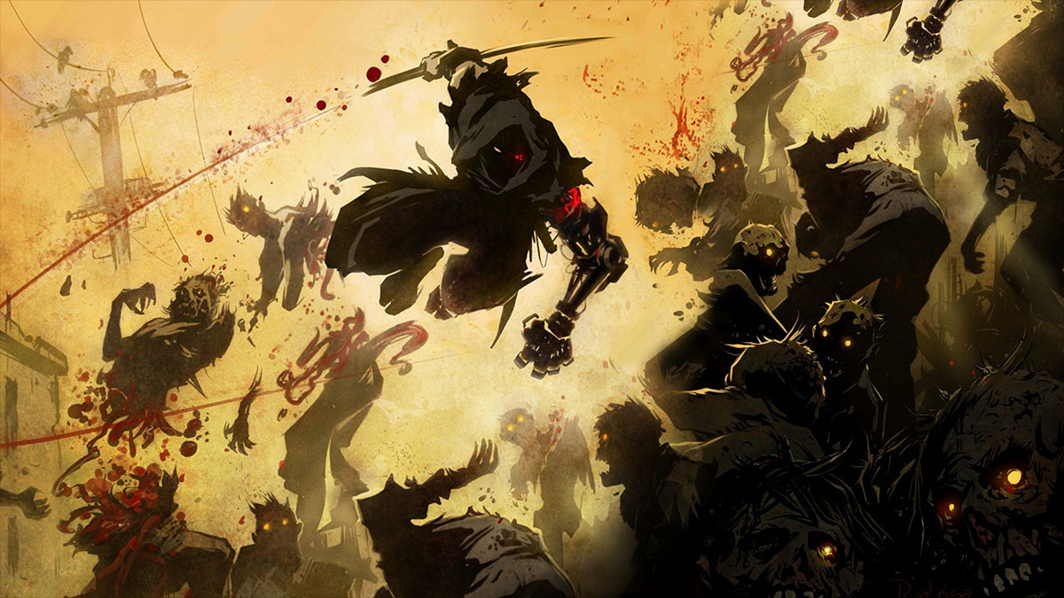 ninja gaiden illustration