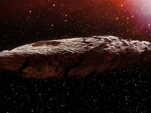 'oumuamua, the galaxy's slowest interstellar spaceship?