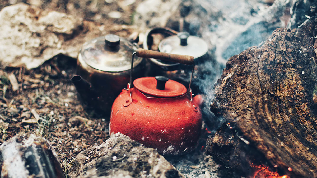 outdoor tea kettles