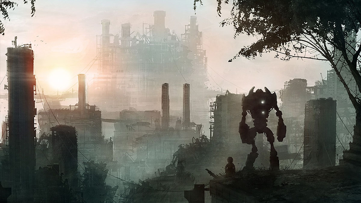 post apocalyptic bot
