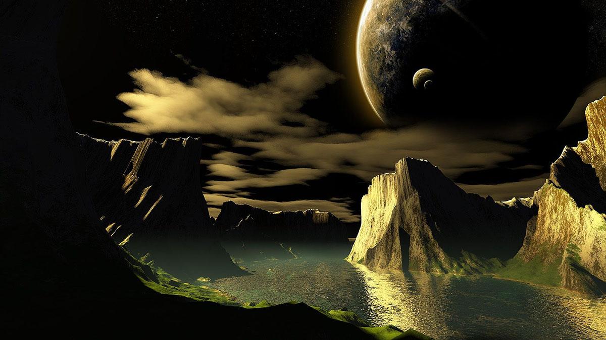 primordial alien moon