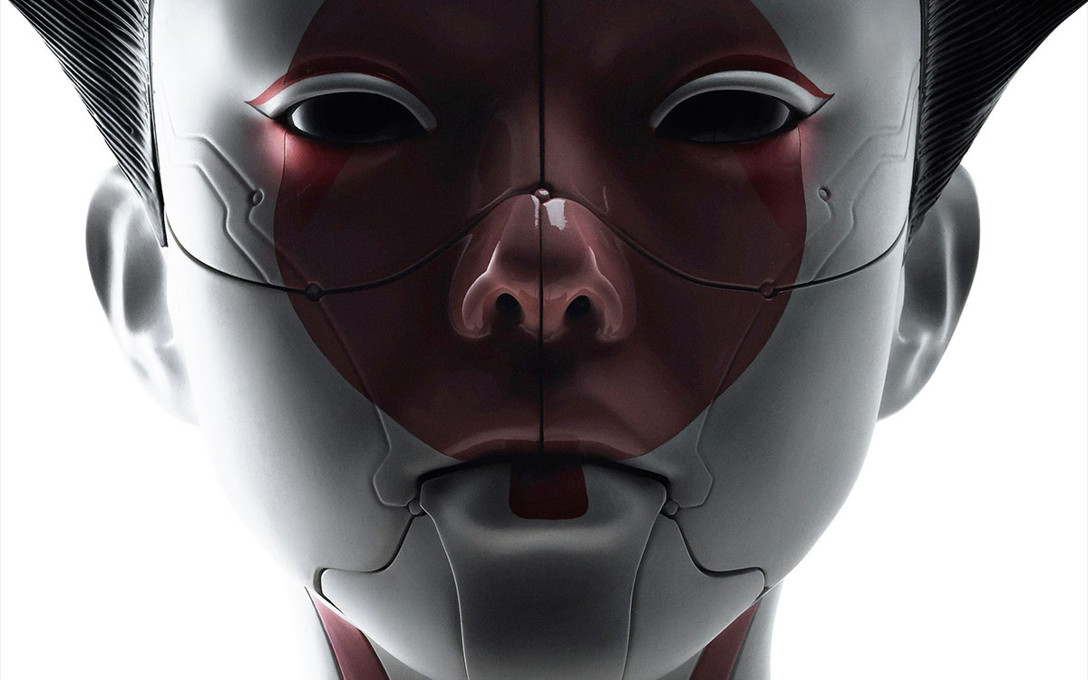 robotic geisha ghost in the shell