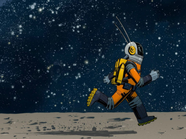 will there be a dawn of cyborg astronauts?