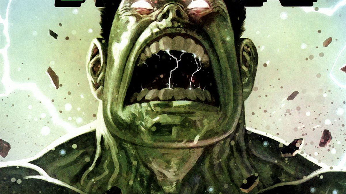 screaming hulk