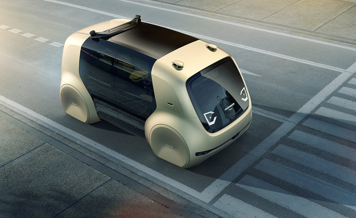 self driving vw