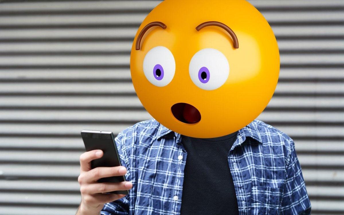 shocked emoji head