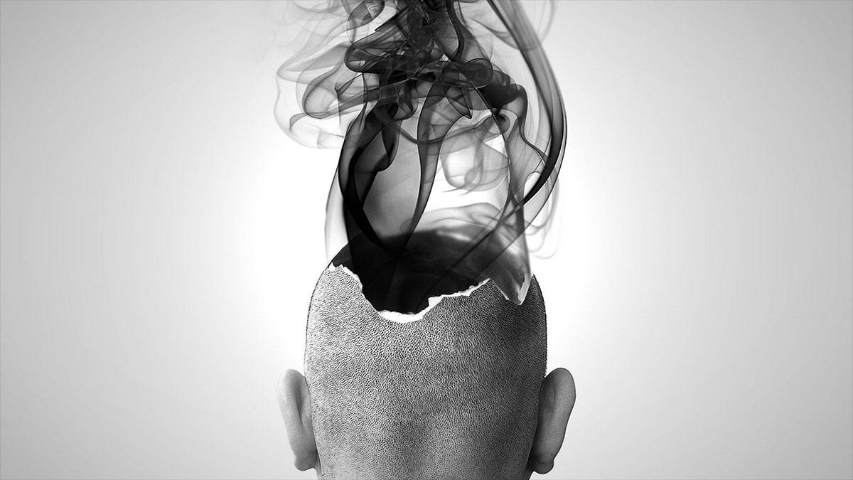 smoke from brain