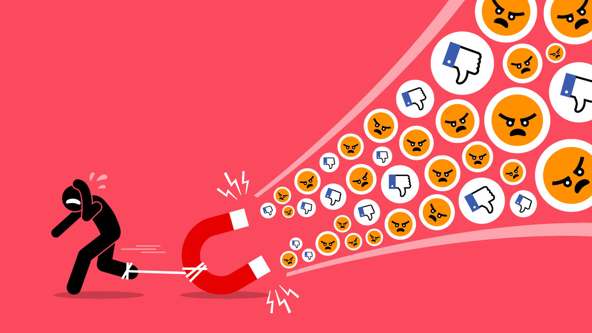 social media rage