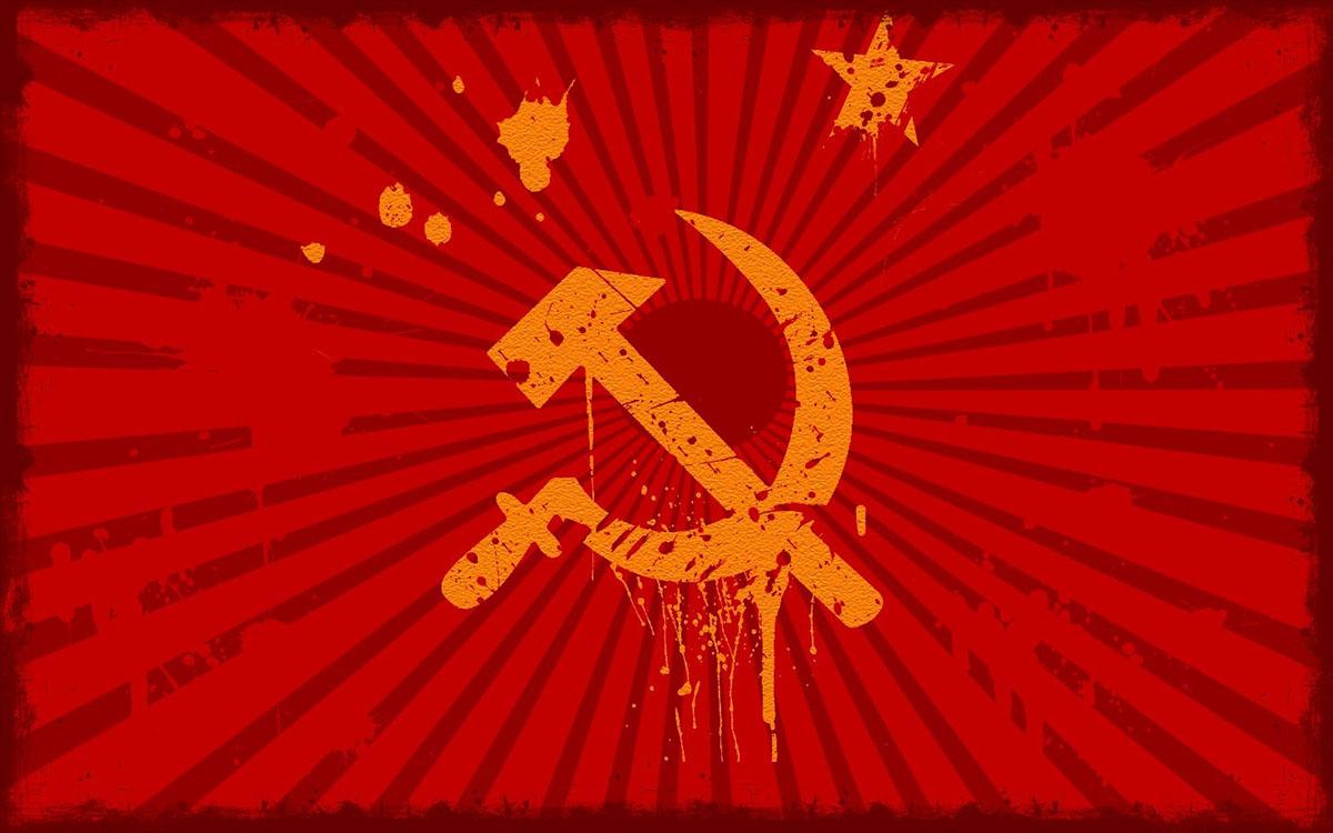 soviet flag rendition