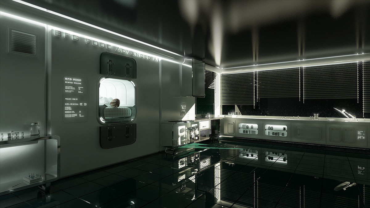 space habitat interior