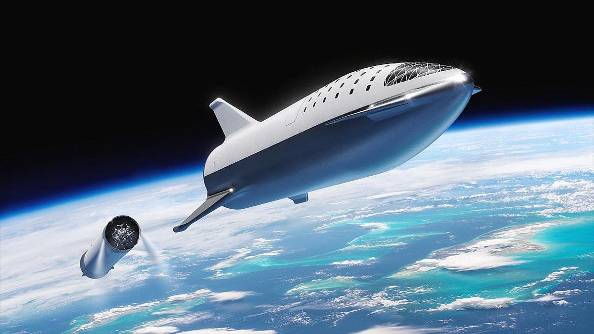 spacex bfr render