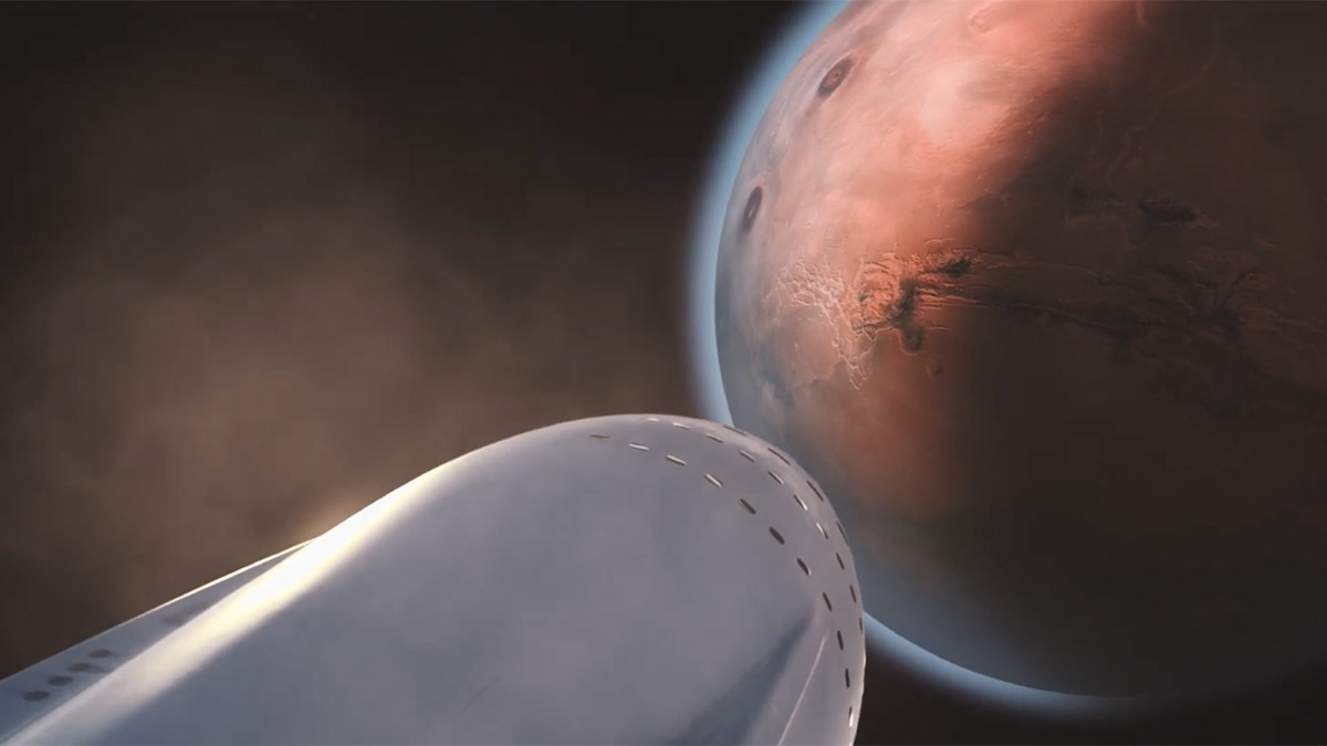 spacex its mars